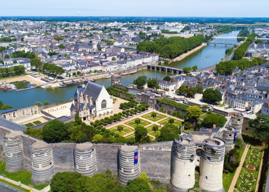 Visit the city of Angers